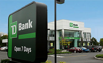 TD Bank Corporate Tenant CAP Rates & Corporate Tenant Pricing